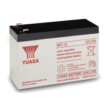 Acumulator industrial Yuasa 12V 7Ah (NP7-12)