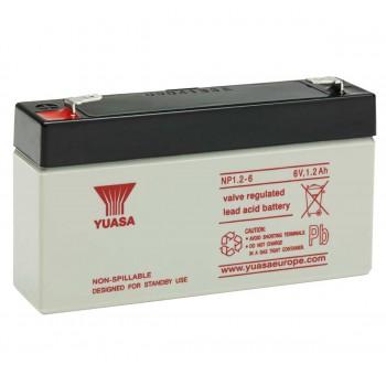 Acumulator industrial Yuasa 6V 1.2Ah (NP1.2-6)