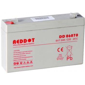 Acumulator stationar Reddot 6V 7Ah (DD06070)
