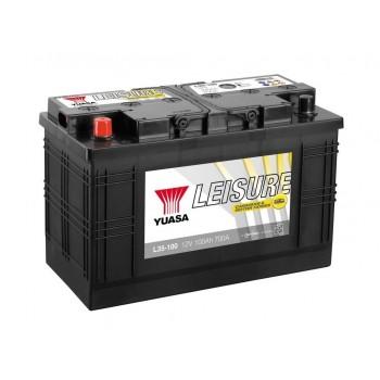 Baterie auto Yuasa 12V 100Ah (L35-100)