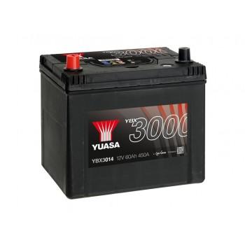 Baterie auto Yuasa 12V 60Ah (YBX3014)