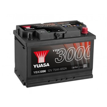 Baterie auto Yuasa 12V 75Ah (YBX3096)