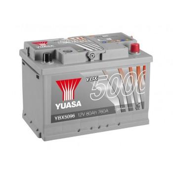 Baterie auto Yuasa 12V 80Ah (YBX5096)