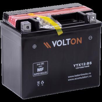 Baterie moto Volton AGM 12V 10Ah (YTX12-BS)