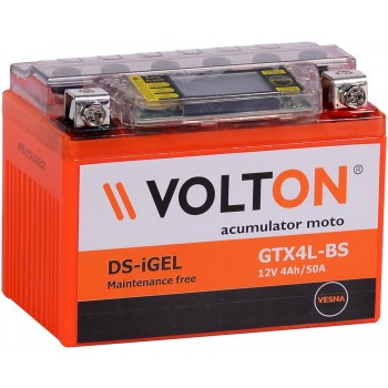 Baterie moto Volton DS-GEL 12V 4Ah (GTX4L-BS)