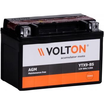 Baterie moto Volton MF 12V 8Ah (YTX9-BS)