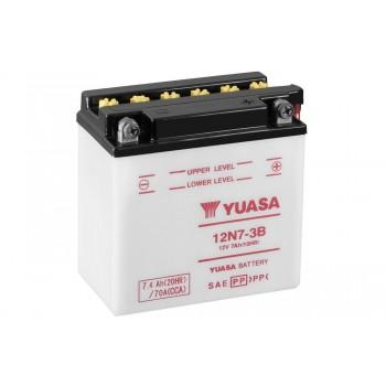 Baterie moto Yuasa 12V 7Ah (12N7-3B)