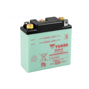 Baterie moto Yuasa 6V 7.4Ah (B39-6)