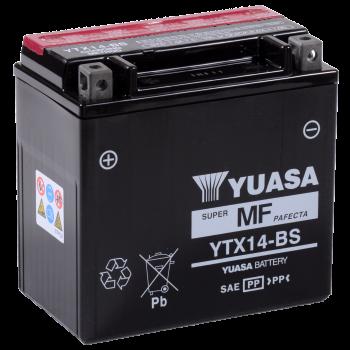 Baterie moto Yuasa AGM 12V 12Ah (YTX14-BS)