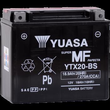 Baterie moto Yuasa AGM 12V 18Ah (YTX20-BS)