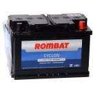 Acumulator auto Rombat Cyclon 12V 77Ah