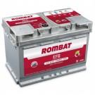 Acumulator auto Rombat EFB 12V 80Ah