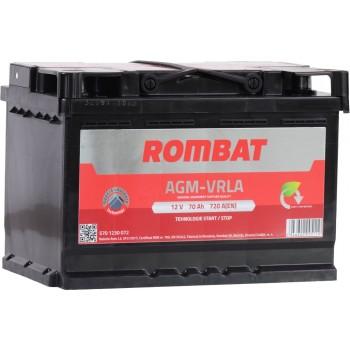 Acumulator auto Rombat AGM 12V 70Ah