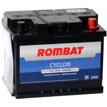 Acumulator auto Rombat Cyclon 12V 55Ah