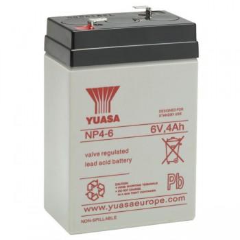 Acumulator industrial Yuasa 6V 4Ah (NP4 - 6)