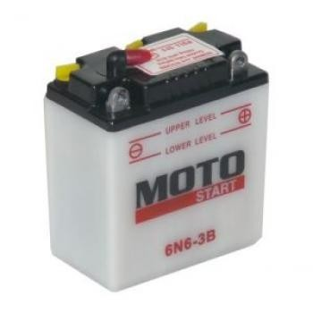 Baterie moto MotoStart 6V 6Ah (6N6-3B)