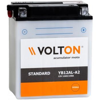 Baterie moto Volton 12V 12Ah (YB12AL-A2)