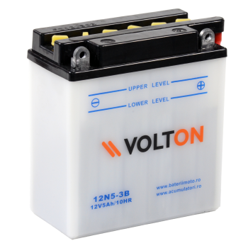 Baterie moto Volton 12V 5Ah (12N5-3B)