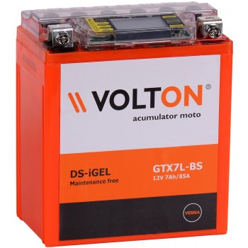 Baterie moto Volton DS-GEL 12V 7Ah (GTX7L-BS)