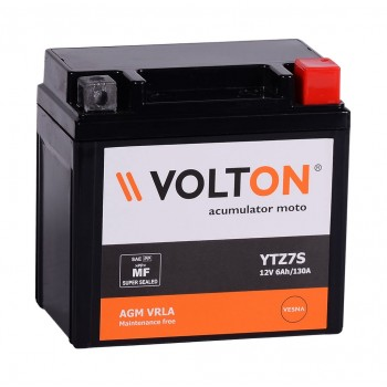 Baterie moto Volton FA 12V 6Ah (YTZ7S)