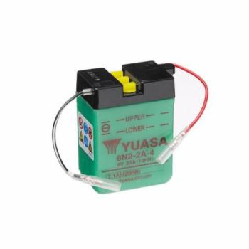 Baterie moto Yuasa 6V 2.1Ah (6N2-2A-4)