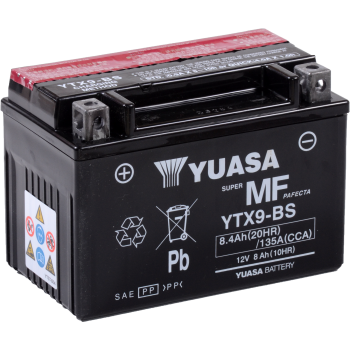 Baterie moto Yuasa AGM 12V 8Ah (YTX9-BS)