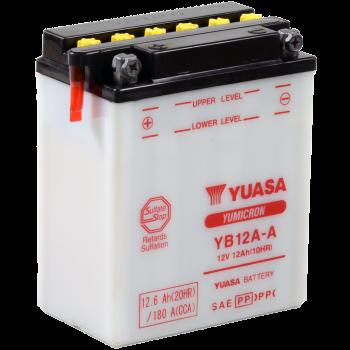 Baterie moto Yuasa YuMicron 12V 12Ah (YB12A-A)